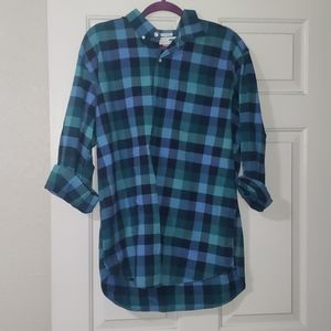 Mens Plaid Old Navy button up